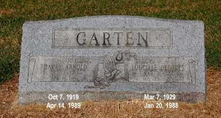 GARTEN, HARRY ARNOLD - Gallia County, Ohio | HARRY ARNOLD GARTEN - Ohio Gravestone Photos