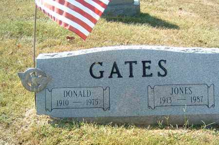 GATES, JONES - Gallia County, Ohio | JONES GATES - Ohio Gravestone Photos