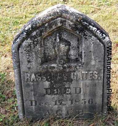 GATES, RASSELAS - Gallia County, Ohio | RASSELAS GATES - Ohio Gravestone Photos