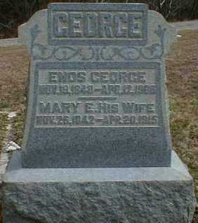 GEORGE, ENOS - Gallia County, Ohio | ENOS GEORGE - Ohio Gravestone Photos
