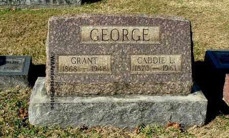 GEORGE, GRANT - Gallia County, Ohio | GRANT GEORGE - Ohio Gravestone Photos