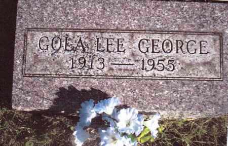 GEORGE, GOLA LEE - Gallia County, Ohio | GOLA LEE GEORGE - Ohio Gravestone Photos