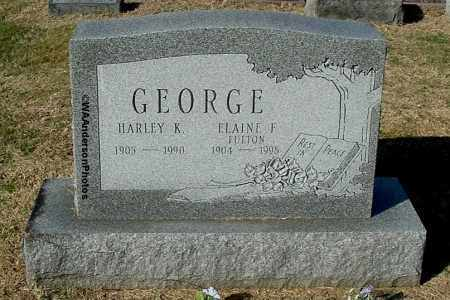 GEORGE, HARLEY K - Gallia County, Ohio | HARLEY K GEORGE - Ohio Gravestone Photos