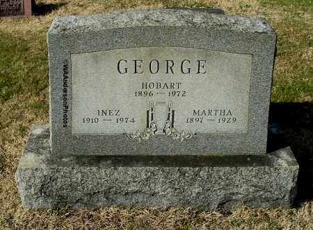 RATLIFF GEORGE, MARTHA - Gallia County, Ohio | MARTHA RATLIFF GEORGE - Ohio Gravestone Photos