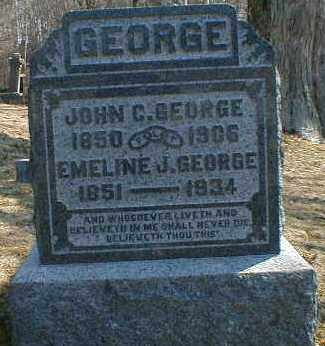 GEORGE, EMALINE - Gallia County, Ohio | EMALINE GEORGE - Ohio Gravestone Photos
