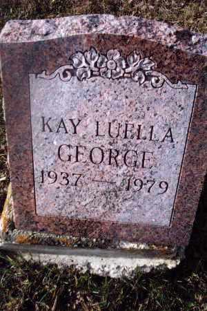 HARRIS GEORGE, KAY LUELLA - Gallia County, Ohio | KAY LUELLA HARRIS GEORGE - Ohio Gravestone Photos