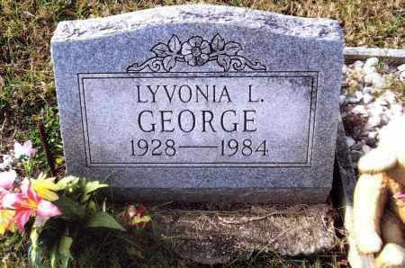 GEORGE, LYVONIA L. - Gallia County, Ohio | LYVONIA L. GEORGE - Ohio Gravestone Photos