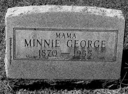 GEORGE, MINNIE - Gallia County, Ohio | MINNIE GEORGE - Ohio Gravestone Photos