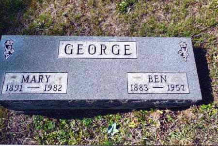 GEORGE, BEN - Gallia County, Ohio | BEN GEORGE - Ohio Gravestone Photos