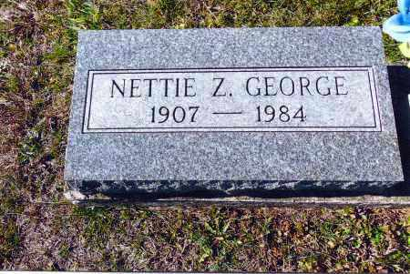 MITCHELL GEORGE, NETTIE Z. - Gallia County, Ohio | NETTIE Z. MITCHELL GEORGE - Ohio Gravestone Photos