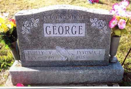 GEORGE, LYVONIA - Gallia County, Ohio | LYVONIA GEORGE - Ohio Gravestone Photos