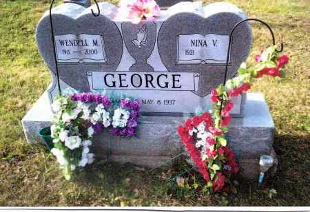 GEORGE, NINA V. - Gallia County, Ohio | NINA V. GEORGE - Ohio Gravestone Photos