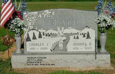 GERARD, CHARLES J - Gallia County, Ohio | CHARLES J GERARD - Ohio Gravestone Photos