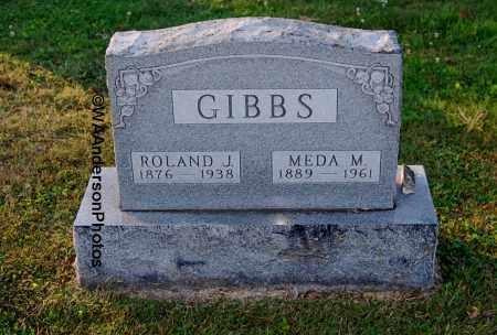 GIBBS, ROLAND J - Gallia County, Ohio | ROLAND J GIBBS - Ohio Gravestone Photos