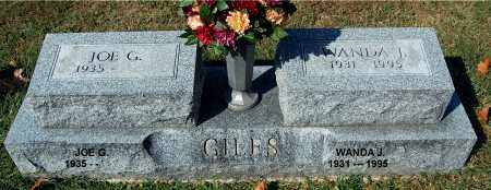 GILES, JOE - Gallia County, Ohio | JOE GILES - Ohio Gravestone Photos