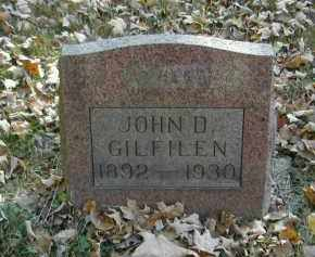GILFILEN, JOHN - Gallia County, Ohio | JOHN GILFILEN - Ohio Gravestone Photos