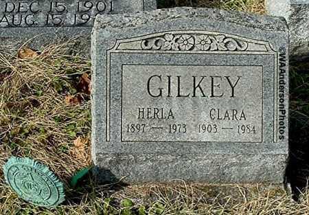 GILKEY, HERLA - Gallia County, Ohio | HERLA GILKEY - Ohio Gravestone Photos