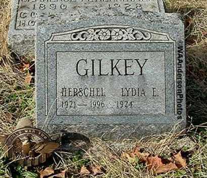 GILKEY, LYDIA E - Gallia County, Ohio | LYDIA E GILKEY - Ohio Gravestone Photos