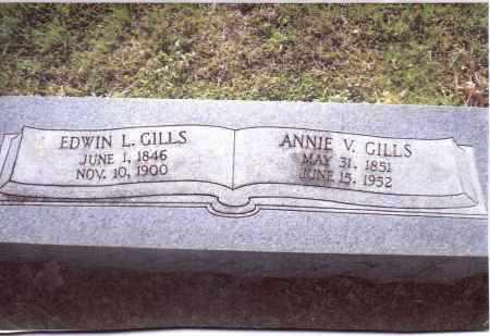 GILLS, ANNIE V. - Gallia County, Ohio | ANNIE V. GILLS - Ohio Gravestone Photos