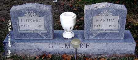GILMORE, MARTHA - Gallia County, Ohio | MARTHA GILMORE - Ohio Gravestone Photos