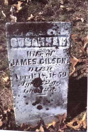 GILSON, SUSANNAH - Gallia County, Ohio | SUSANNAH GILSON - Ohio Gravestone Photos