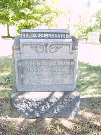GLASSBURN, ALFRED - Gallia County, Ohio | ALFRED GLASSBURN - Ohio Gravestone Photos