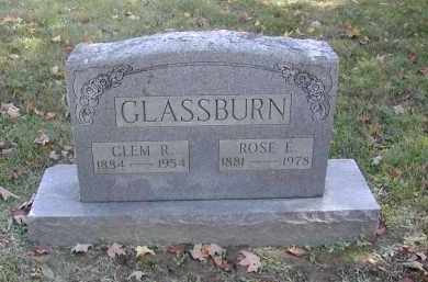 GLASSBURN, CLEM - Gallia County, Ohio | CLEM GLASSBURN - Ohio Gravestone Photos