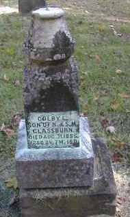 GLASSBURN, COLBY - Gallia County, Ohio | COLBY GLASSBURN - Ohio Gravestone Photos