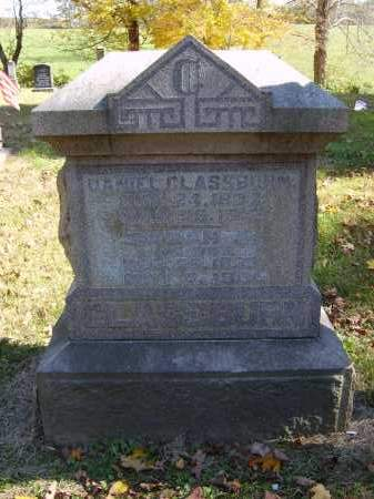 GLASSBURN, DANIEL - Gallia County, Ohio | DANIEL GLASSBURN - Ohio Gravestone Photos