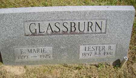 GLASSBURN, E. - Gallia County, Ohio | E. GLASSBURN - Ohio Gravestone Photos