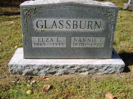GLASSBURN, NANNIE - Gallia County, Ohio | NANNIE GLASSBURN - Ohio Gravestone Photos