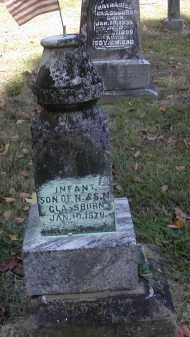 GLASSBURN, INFANT - Gallia County, Ohio | INFANT GLASSBURN - Ohio Gravestone Photos