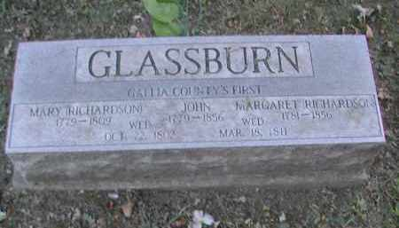RICHARDSON GLASSBURN, MARGARET - Gallia County, Ohio | MARGARET RICHARDSON GLASSBURN - Ohio Gravestone Photos