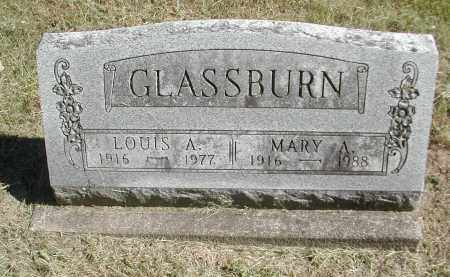 GLASSBURN, LOUIS - Gallia County, Ohio | LOUIS GLASSBURN - Ohio Gravestone Photos