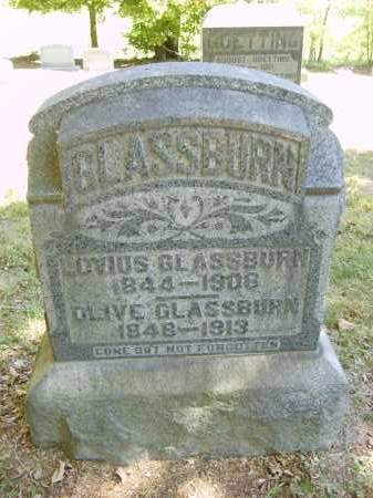 GLASSBURN, OLIVE - Gallia County, Ohio | OLIVE GLASSBURN - Ohio Gravestone Photos