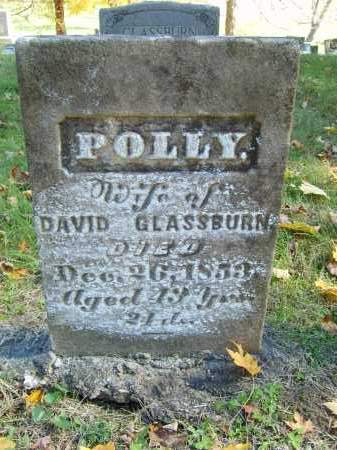 GLASSBURN, POLLY - Gallia County, Ohio | POLLY GLASSBURN - Ohio Gravestone Photos