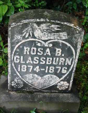 GLASSBURN, ROSA B. - Gallia County, Ohio | ROSA B. GLASSBURN - Ohio Gravestone Photos