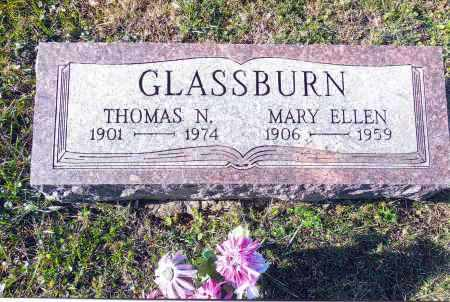 GLASSBURN, MARY ELLEN - Gallia County, Ohio | MARY ELLEN GLASSBURN - Ohio Gravestone Photos