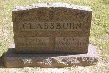 GLASSBURN, ZERUIA - Gallia County, Ohio | ZERUIA GLASSBURN - Ohio Gravestone Photos