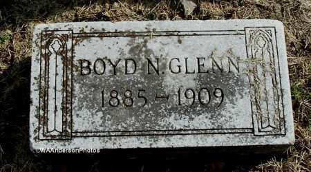 GLENN, BOYD N - Gallia County, Ohio | BOYD N GLENN - Ohio Gravestone Photos