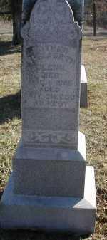 GLENN, ELIZABETH - Gallia County, Ohio   ELIZABETH GLENN - Ohio Gravestone Photos