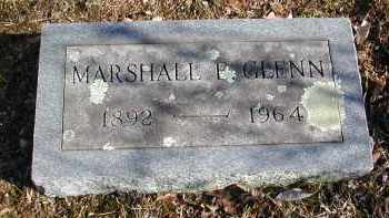 GLENN, MARSHALL E. - Gallia County, Ohio | MARSHALL E. GLENN - Ohio Gravestone Photos
