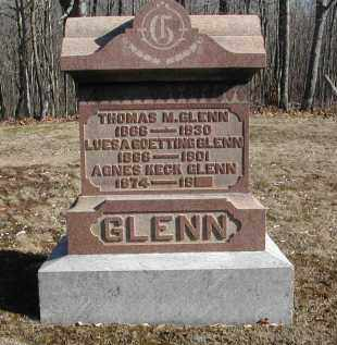 GOETTING GLENN, LUESA - Gallia County, Ohio | LUESA GOETTING GLENN - Ohio Gravestone Photos