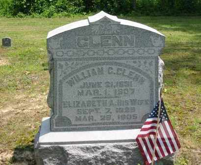 GLENN, ELIZABETH A. - Gallia County, Ohio | ELIZABETH A. GLENN - Ohio Gravestone Photos