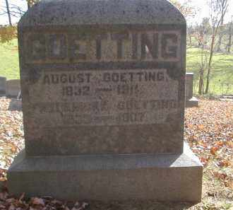 GOETTING, FREDERICKA - Gallia County, Ohio | FREDERICKA GOETTING - Ohio Gravestone Photos