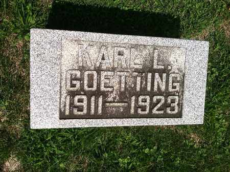 GOETTING, KARL - Gallia County, Ohio | KARL GOETTING - Ohio Gravestone Photos