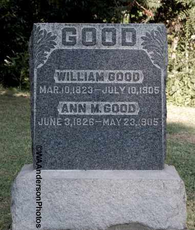 GOOD, WILLIAM - Gallia County, Ohio | WILLIAM GOOD - Ohio Gravestone Photos