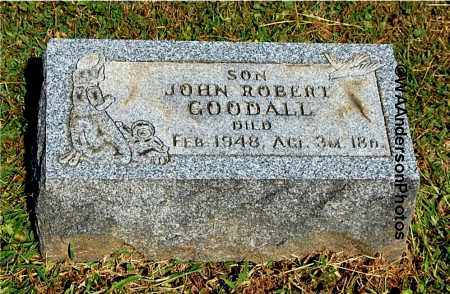 GOODALL, JOHN ROBERT - Gallia County, Ohio | JOHN ROBERT GOODALL - Ohio Gravestone Photos
