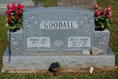 MULFORD GOODALL, BETTY MARIE - Gallia County, Ohio | BETTY MARIE MULFORD GOODALL - Ohio Gravestone Photos