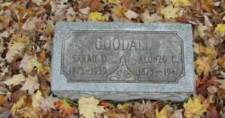 GOODALL, SARAH - Gallia County, Ohio | SARAH GOODALL - Ohio Gravestone Photos